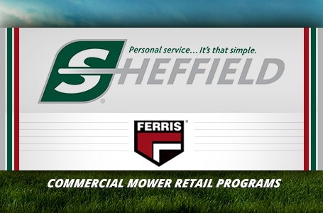 Ferris - Commercial Mower Retail Programs-Sheffield