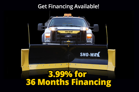 Sno-Way - 3.99% for 36 Months Financing