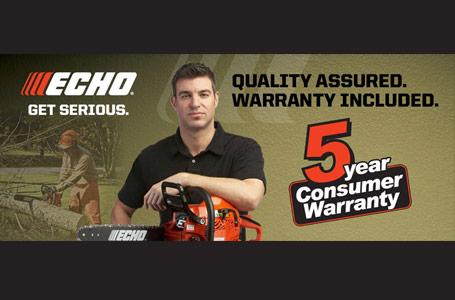 Echo - 5 Year Consumer Warranty
