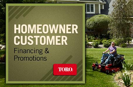 Toro - Homeowner Customer Financing & Promotions