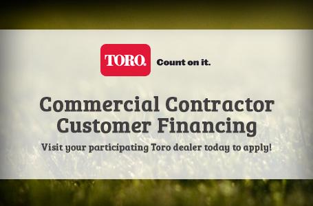 Toro - Commercial Contractor Customer Financing
