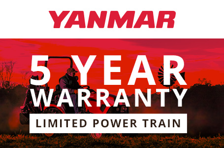 Yanmar USA - 5-YEAR LIMITED POWER TRAIN WARRANTY